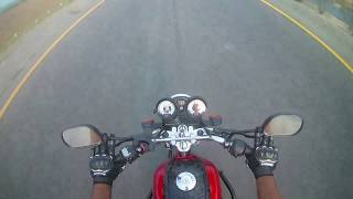 Long Riding on Yamaha YB125Z