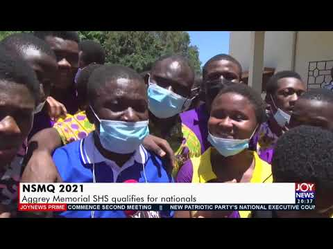 NSMQ 2021: Aggrey Memorial SHS qualifies for nationals - Joy News Prime (11-5-21)