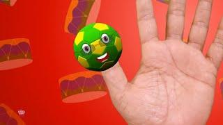 Футбол палец Семья   детская песня   Football Finger Family   Nursery Rhymes   Preschool Songs
