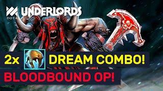 DOUBLE Ogre Cap! Ultimate Bloodbound Dream Build Items! | Dota Underlords