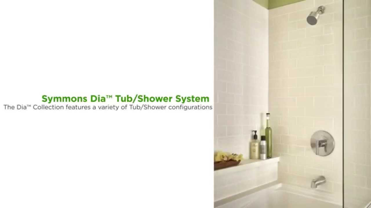 symmons dia tubshower system product features