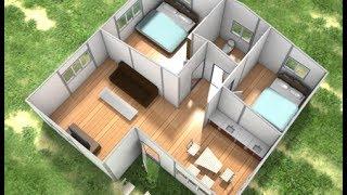 Prefab Homes - Sandwich Panels Building
