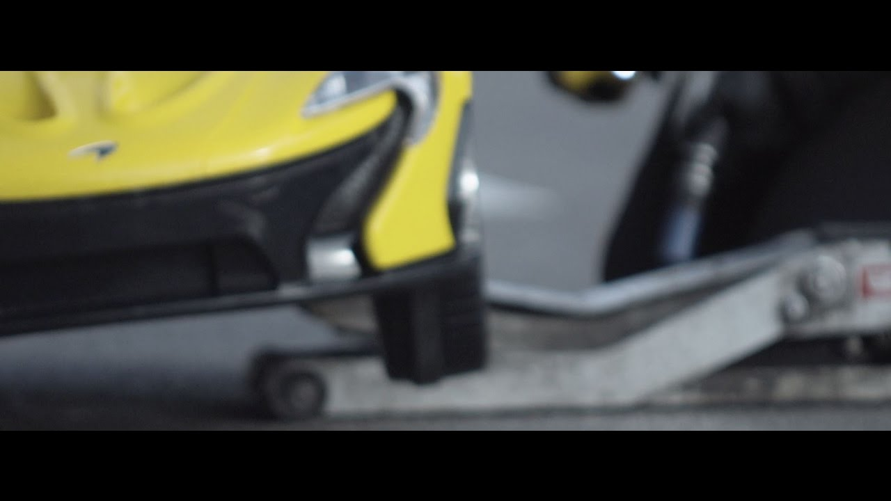 Behind the scenes testing the new fully electric McLaren P1™