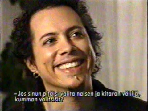 Metallica - LOAD Interview (1996) [Finnish TV Report]