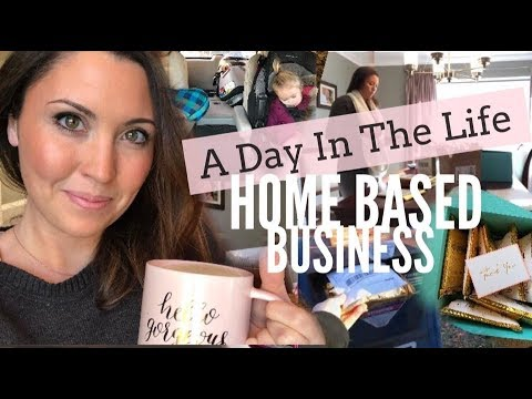 A DAY IN THE LIFE OF A WORK AT HOME MOM! Ashley Salvatori