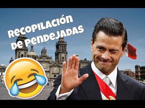 Los momentos mas graciosos de Peña Nieto - Recopilación