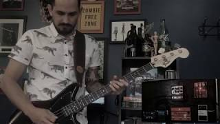 Royal Blood - Lights Out - Bass Cover by Abner Canela