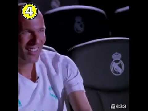 Zidane pleure et se dévoile en interview, touchant  ( re-upload). Passage en entier.