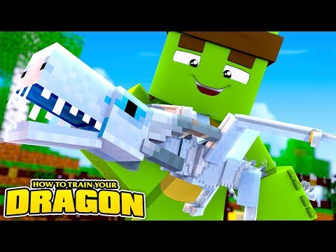 HOW TO TRAIN YOUR DRAGON #5 - THE NEW BABY GHOST DRAGON!w/TinyTurtle