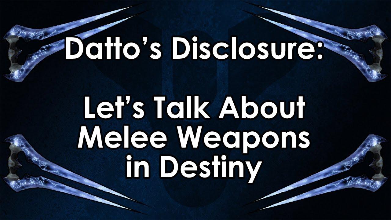 destiny melee weapons - photo #19