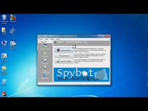 Como Usar Spybot Para Eliminar Spyware