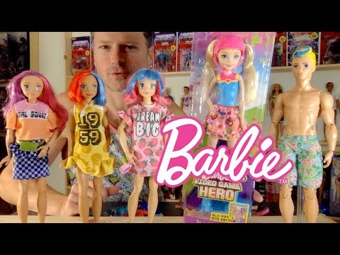 WWE MADE TO MOVE BARBIE VIDEO GAME HERO OOAK COLLECTION