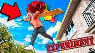 HOME MADE PARACHUTE CHALLENGE! 😱 WATERMELONS, EGGS & MORE (Papa Jake Vs Logan)