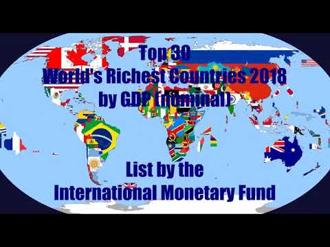 Top 30 Riches Country In The World By GDP Nominal
