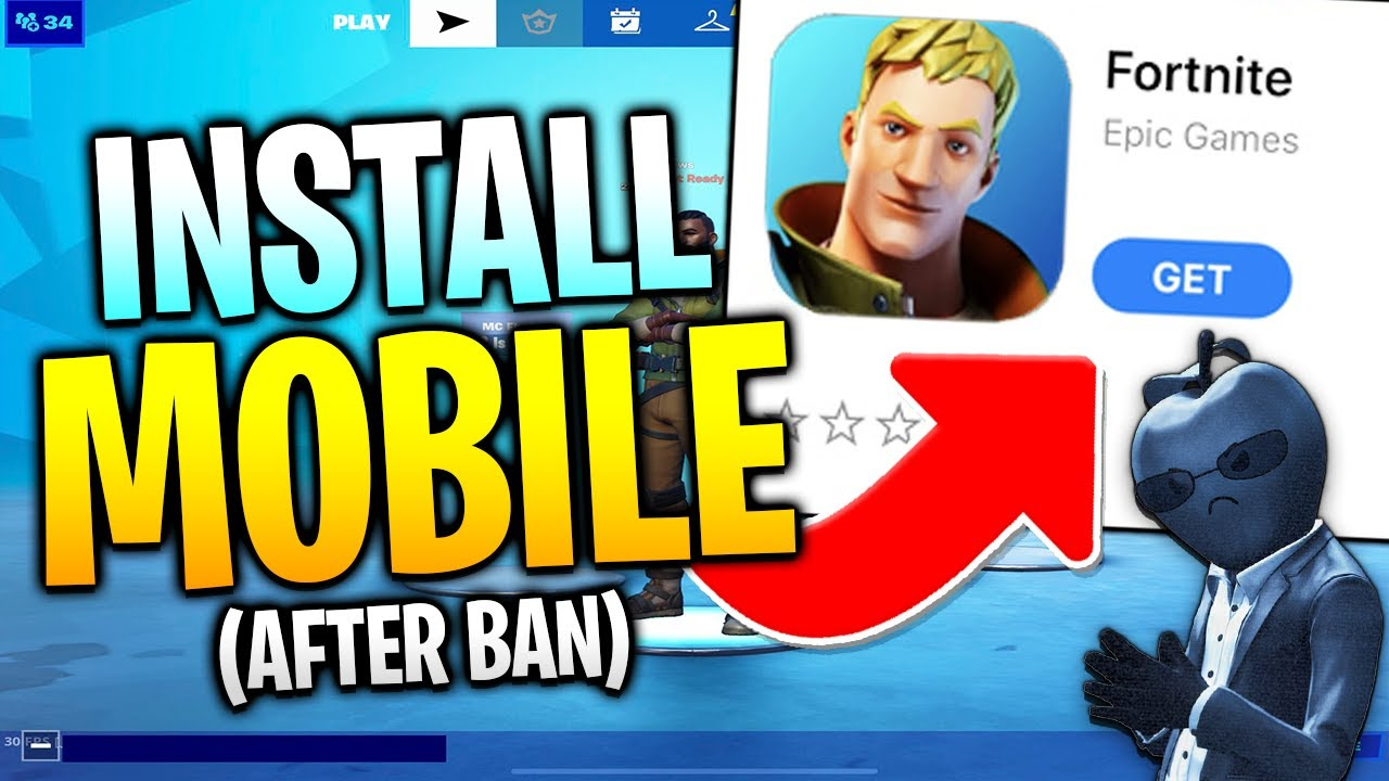 How To DOWNLOAD Fortnite Mobile On iOS After AppStore Ban