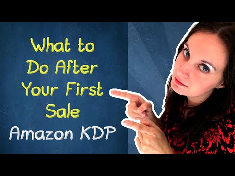 📈 What To Do After Your First Sale On Amazon KDP (Common Self-publishing Questions And Answers)