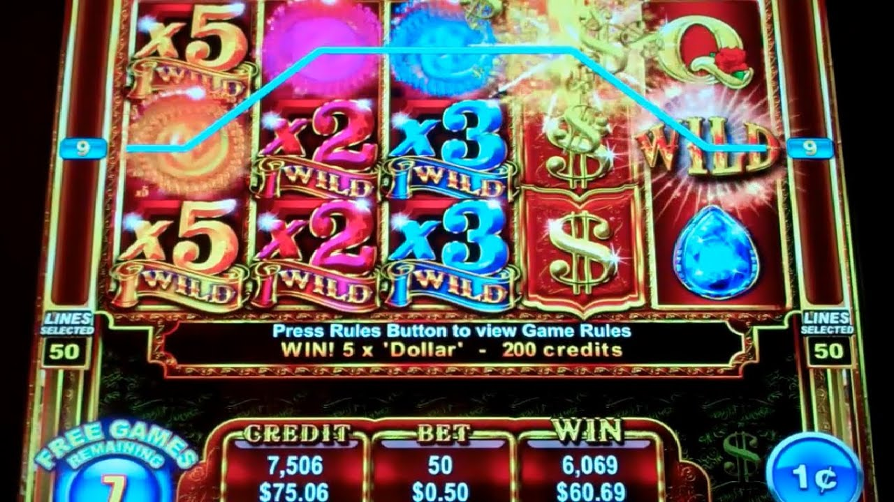 slot machine free games bonus