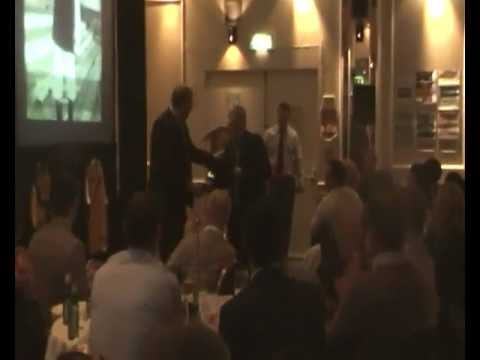 Gary Lloyd presented with Hall of Fame Award at '100 Years of Barry Town'