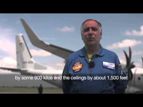 Airbus flight engineer talks about Winglets in C295W