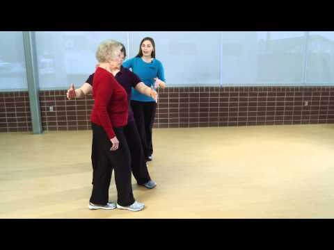 Part 7: Heel Toe Walk Prevent Senior Falls: Assessment & Balance Exercises