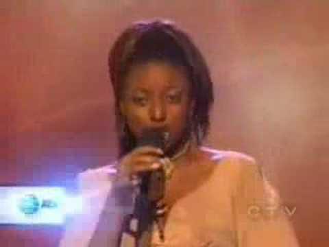 American Idol Season 2 - contestant 5 - Trenyce