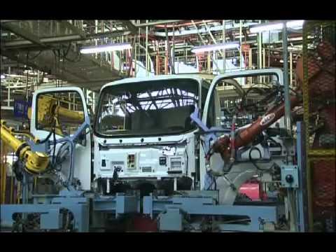 Завод ISUZU Fujisawa, Япония - производство грузовиков