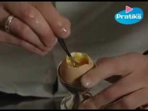 Wie macht man ein weichgekochtes Ei ohne Uhr - YouTube