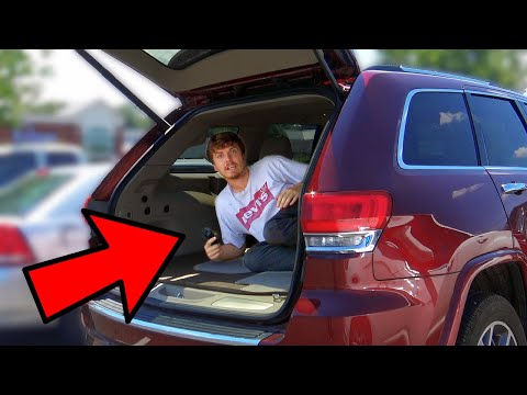 Sneaking Into People's Cars Prank Part 4!!