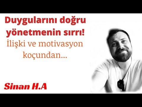 Duygularını doğru yönetmenin sırrı - SİNAN H. A.