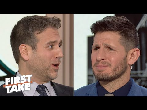 Max Kellerman And Dan Orlovsky Get Heated During A Carson Wentz Debate | First Take