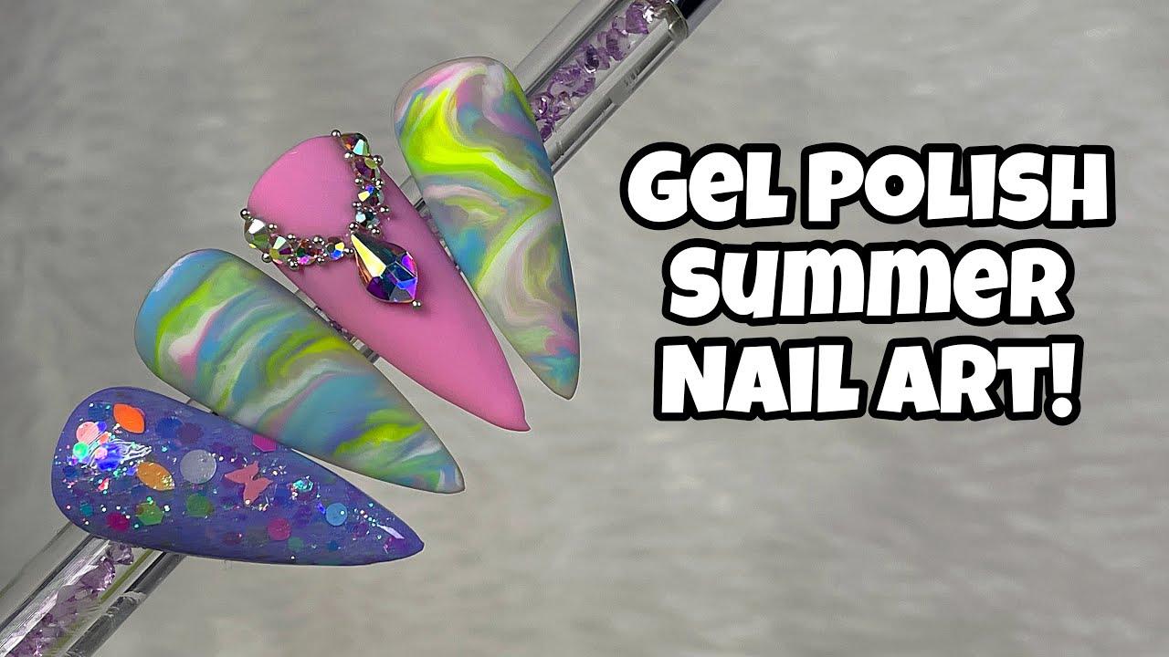 Summer Pastels   Modelones   Nail Sugar