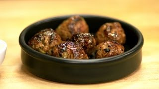 Lamb Meatballs Recipe - Summer Tapas Series, Tapas 4 - Cookingwithalia - Episode 265