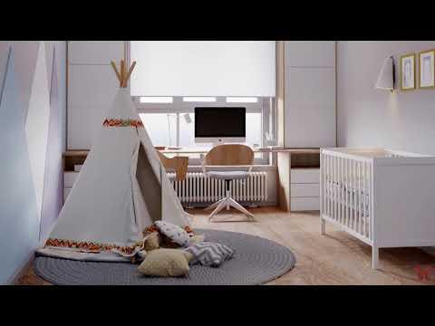 Квартира 108 м2 в современном стиле для молодой пары