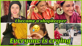 I became shopkeeper | saba jewellery wala | everyone is crying | they are leaving | ibrahim family