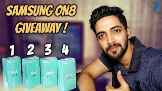 Samsung Galaxy On8 Unboxing + 4x Samsung On8 GIVEAWAY!