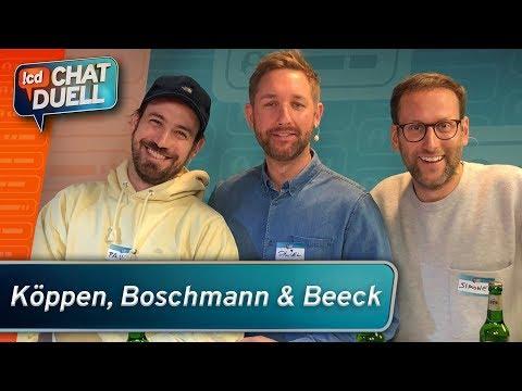 Chat Duell #11 | Jan Köppen, Simon Beeck & Daniel Boschmann gegen Rocket Beans TV