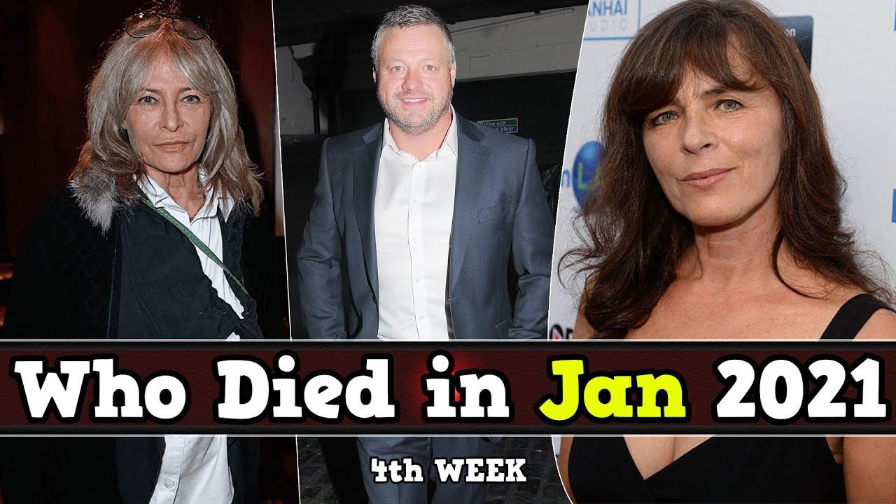 Celebrities Who Died in January 2021, 4th Week