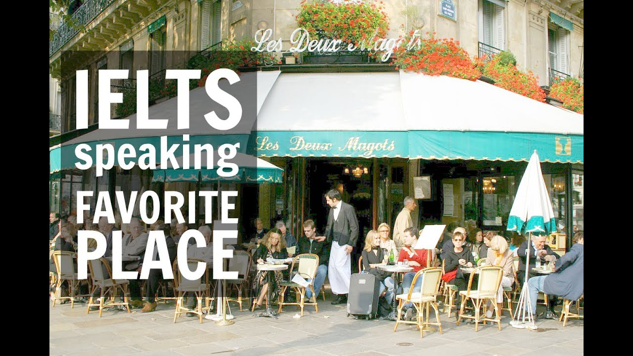 Talk about your favorite place in the city where you live | IELTS Speaking  Test 2016
