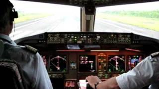 Boeing 777-300ER  Cockpit Take Off - Air France