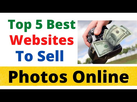 Top 5 Best Websites For Selling Images Online | Stock Photography | Hindi