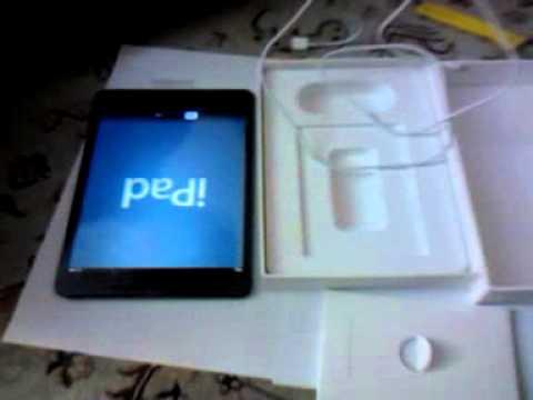 iPad Mini Unboxing (16GB Wi-Fi Black version)