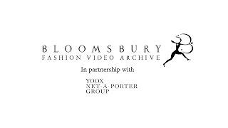 Valerie Steele introduces the Bloomsbury Fashion Video Archive