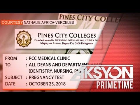 Pines City Colleges Sa Baguio, Binatikos Dahil Sa Kanilang Mandatory Pregnancy Test