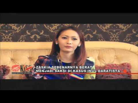 Zaskia Tak Enak Hati Jadi Saksi Inul Daratista - Kiss Pagi 23/09/15