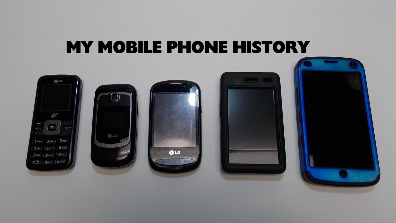 my mobile phone history