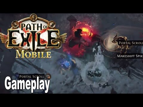 Path Of Exile Mobile - Gameplay Demo ExileCon 2019 [HD 1080P]