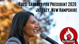 Tulsi Gabbard for President 2020 Jaffrey New Hampshire #Tulsi2020
