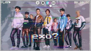 Download I found this strange tape it says EXO on it