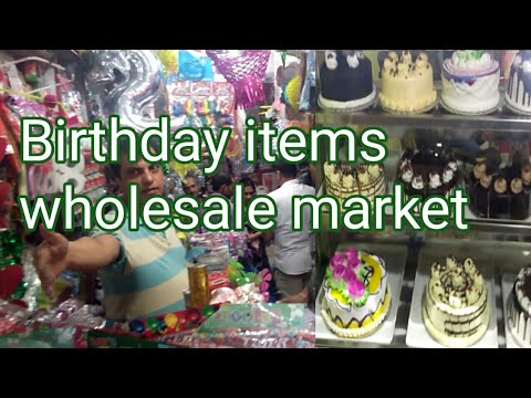 Birthday Items Wholesale Market Delhi Gift House Cake Material