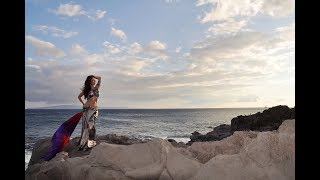 Scenes from our Belly Dance Photoshoot in Maui
